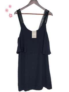Anthropologie Maeve Navy Dress ($148) New w tags
