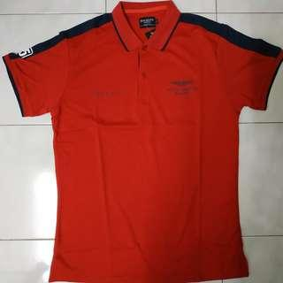 Polo Hackett Aston Martin Racing Red #95 Size L
