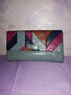 Fossil Ellis Clutch Blue Steel
