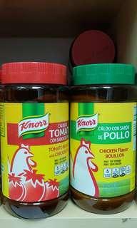 【美國製造Knorr家樂牌鮮味雞粉 & 番茄味雞粉】
