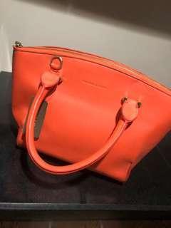 Charles & Keith Tangerine Handbag with Straps