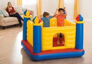 Intex Castle Bouncer bouncy castle 充氣城堡 吹氣彈床 生日會必備