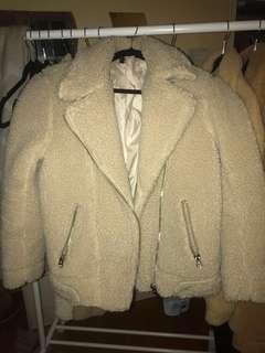 H&M Sherpa Jacket size 2