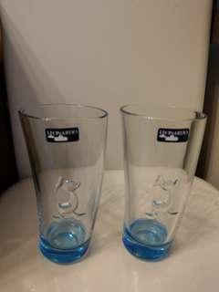唐老鴨(對裝)玻璃杯