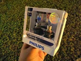 🚚 Philips HB3 WhiteVision pair bulbs #endgameyourexcess