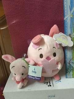 🚚 粉紅豬娃娃*2玩偶