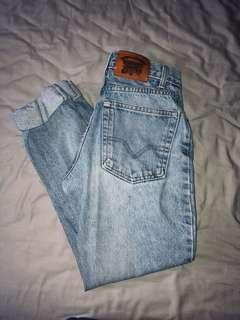 Real Denim High Waisted Jeans, 24 inch waist