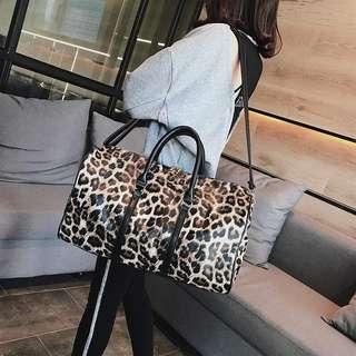 Animal Print Duffle Bag