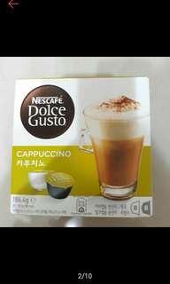 🚚 雀巢 卡布奇諾 咖啡膠囊