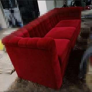 Last Deal!! Red Sofa