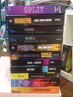 Preloved Novel Thriller/Seram