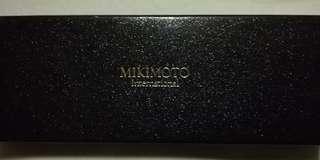MIKIMOTO Pearl Ballpoint pen (matte gold)