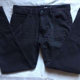 Mark Down H&M Denim Black Skinny Jeans