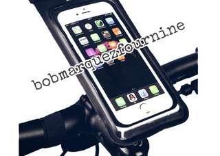Waterproof Handphone Holder 6 Inch ( Bar Mounting) * Instock *