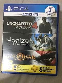 PS4 bundle hits