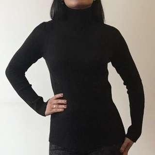⚡️Black turtleneck sweater M