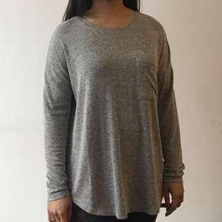 ⚡️Old Navy Gray long sleeve tshirt pullover S