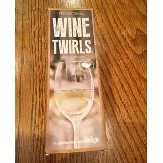 Wine Twirls - Set of 4 by Teroforma