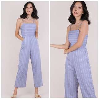 8a7c10287779 EDITORS Aeisha Striped Tube Romper-Jumpsuit