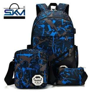 3 In 1 Travel Backpack Bag