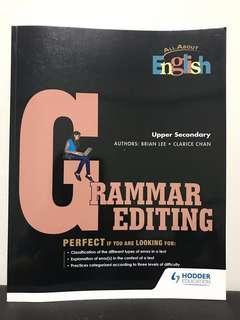 🚚 O Level English Grammar Editing Sec 3/4 Upper Secondary Paper 2