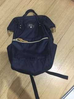 Anello Navy blue larger Backpack