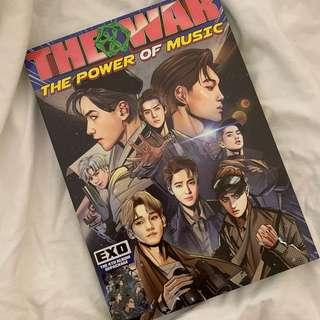exo the war power of music album