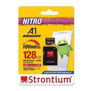 Strontium Micro SDXC Card With Adapter