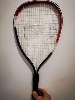 squash racquet (red+white+black)