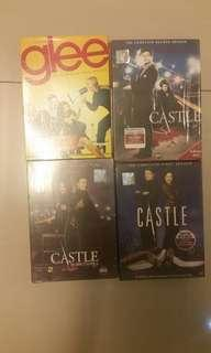 Castle and Glee complete season