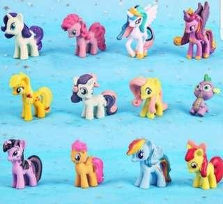 My little pony cake toppers/ Figurine/toy/Display/miniature