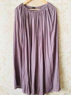 Rok ungu - all size