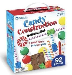 Brand New Candy Construction Building 92 pcs Set