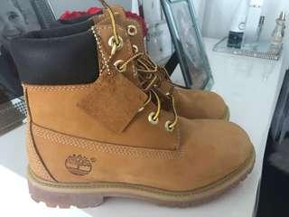 Timberlands. Authentic