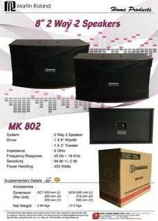 ㊗️Martin Roland karaoke Speaker Mk-802