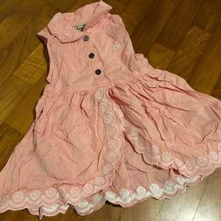 2-3T NEW CK Top or Dress in Pink Eyelet Lace
