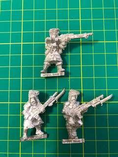 Warhammer 40k Vostroyan Troopers x 3