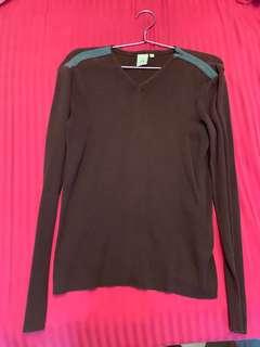 A X (Armani Exchange) long sleeved top (pre-loved)
