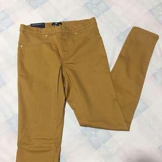 H&M Divided Mustard Jeggings