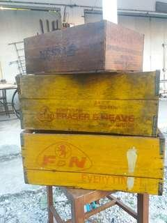 Vintage fnn nestle crate.. antik