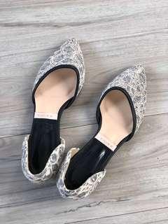 Korean style flat shoes (90% new) #斷捨離