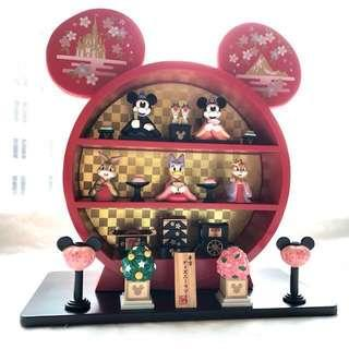 Disney Hinamatsuri Doll Set New Year 2010 Limited Edition 罕有 絕版