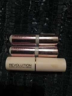 Makeup Revolution Stick Foundation + Concealer