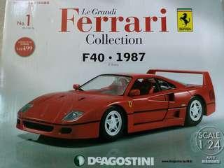 全新Ferrari法拉利模型+雜誌