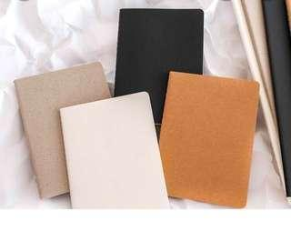 4in1 Set Blank Notebook