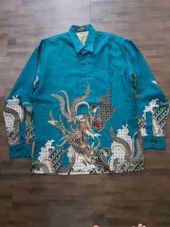 Batik original Hanoman original (Green)