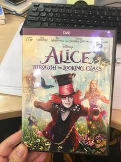 Alice through the looking glass & Toy story that time forgot DVD