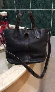 Authentic tods leather bag