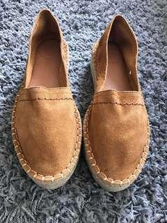 🎀Alohas Espadrilles Canvas in Camel