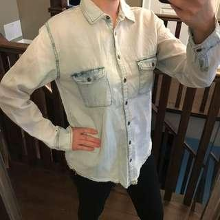 Garage Denim Style Button Down